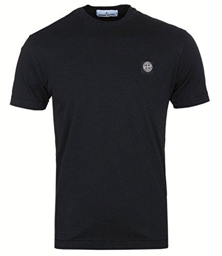 Stone Island. Mann-T-Shirt. Kurzarm. Regulär Passen