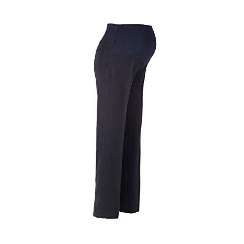 2HEARTS Le pantalon de grossesse business, coupe droite pantalon de grossesse pantalon de grossesse Bleu