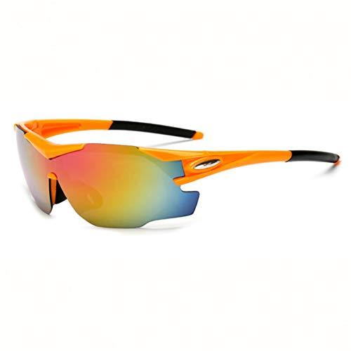 ZKAMUYLC SonnenbrilleRadfahren Brillen Unisex Outdoor Sunglass UV400 Reiten Sport Sonnenbrillen Brille Fahrrad Winddicht Sandproof Polarisierte Brille