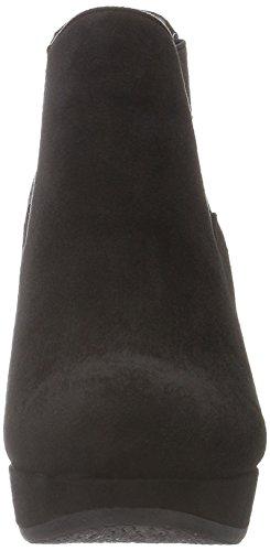 XTI - 46012, Stivali bassi con imbottitura leggera Donna Nero (nero)