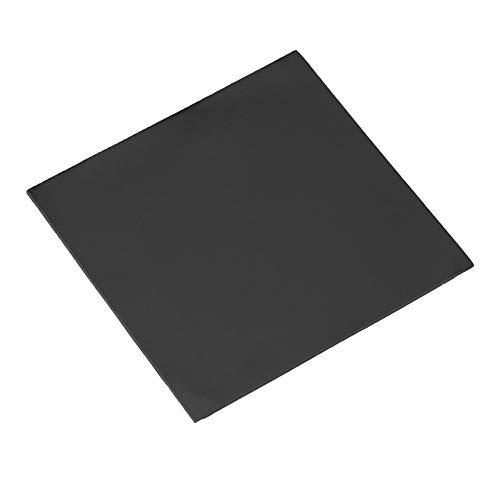 Thermo Heizelemente (Zerone 100 x 100 x 2,0 mm CPU Thermo-Pad, Silikon Wärmeleitfähigkeit, Isolierung Paste Spaltfüller Kühlpads)