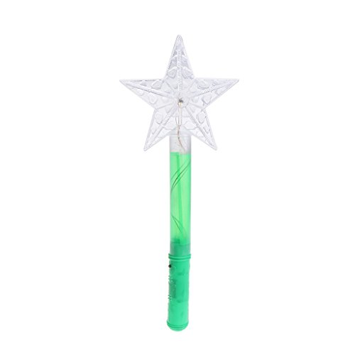 ZOOMY Light-Up Flashing Moon Butterfly Stars Spielzeug Stick Flash Zauberstab Leuchtstab Spielzeug ()