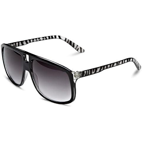 Quay Eyewear Australia - Occhiali da sole, (Zebra Eye)