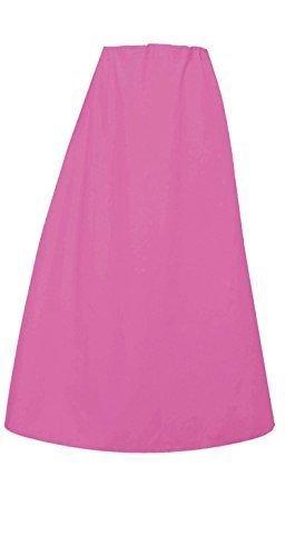 Donna Indian Sari Cotone pronti sottoveste o con cuciture Sottogonna in un'unica taglia 022 Lavande Rose