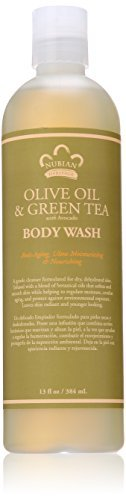 Preisvergleich Produktbild Nubian Heritage Body Wash, Olive and Green Tea, 13 Fluid Ounce by Nubian Heritage