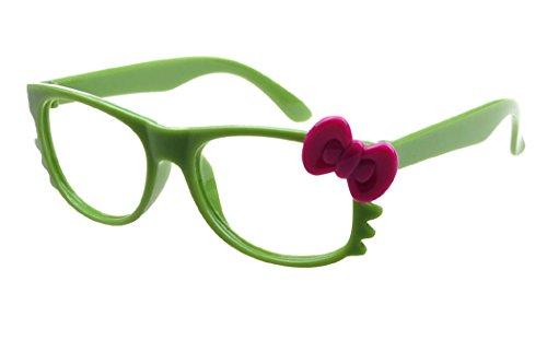Sunbo Mädchen Brillengestell Gr. One size, Grün