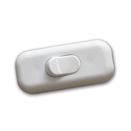 Schnurschalter Wipp-Zwischenschalter weiß 2A/230V