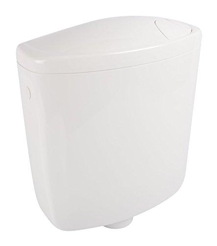Spülkasten Luxus | Kunststoff | 2 Mengen Spültechnik | Mit extra leisem Füllventil | 3 Liter oder 6 - 7,5 Liter | Tiefspülkasten | WC, Toilette | Weiß