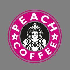 TEXLAB - Peach Coffee - Herren T-Shirt Graumeliert