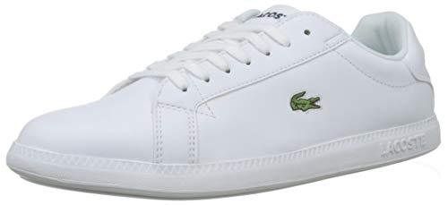 Lacoste Damen Graduate BL 1 SFA Sneaker, Weiß (White/White), 39 EU