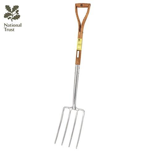 Bentley Garden - Horca de jardinería para cavar - Acero inoxidable