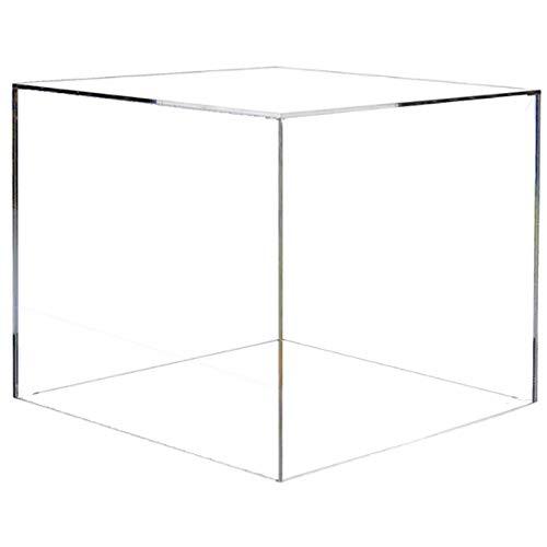 HOKU Holzhäuser Kunststofftechnik  Acryl Glas Tisch - Vitrine 20x20x20 cm groß. (Acryl-box)