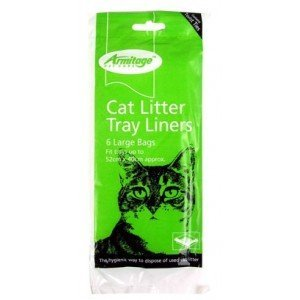 Armitage Cat Litter Tray Liners 6 Large Bags from Armitage