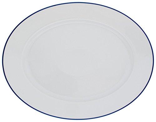 Kahla - Porcelaine pour les Sens 453306A72045A Aronda Linie Plateau Ovale Bleu 32 cm