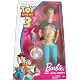 Disney / Pixar Toy Story 3 Barbie Doll Ken Loves Barbie