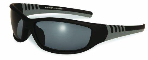 Bluewater Hochdruckarmatur Polarisierte Daytona 5Smoke Gläser mit Hydrophobic Coating (schwarz/grau, klein)