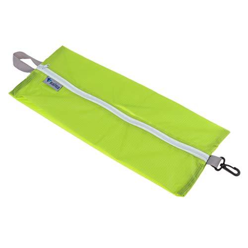 perfeclan Schuhe Gepäckbeutel Wasserdicht Gepäck Organizer Schuhbeutel - Grün