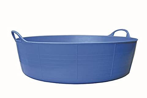 Tubtrugs 35L Large Shallow Flexible 2-Handled Recycled Tub,