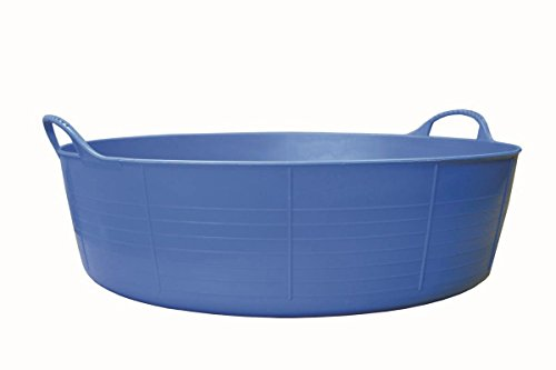 Decco Ltd Cubo Flexible Multiusos, Azul, 57x57x16 cm