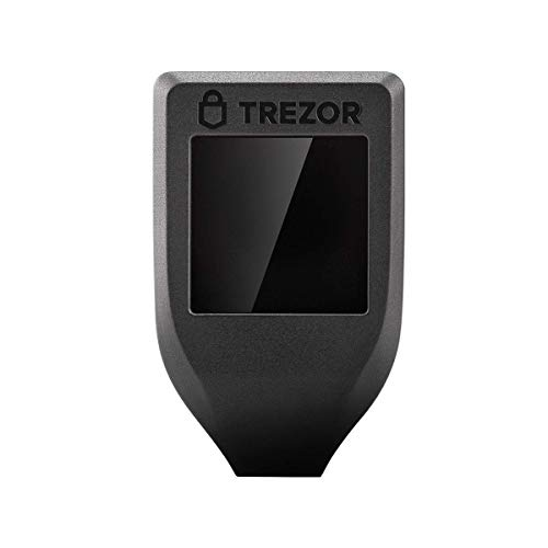 Trezor Model T - Cryptocurrency Hardware Wallet. Next Generation Crypto Wallet mit LCD-Farb-Touchscreen und USB-C.
