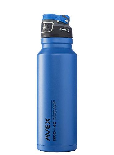Avex Freeflow Edelstahl Autoseal Wasser Flasche