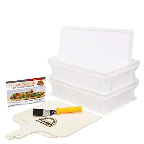 Pimotti Pizzabäcker Set/Brotbäcker Set Premium, Advanced, Basic