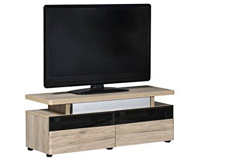 Movian - Mueble para televisores de hasta 55'' (acabado en Efecto Roble)
