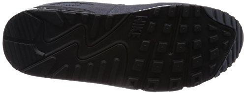 Nike Air Max 90 537384, Herren Sneakers Training Schwarz (Grau Mist/Weiß-Schwarz-Dunkelgrau 037)