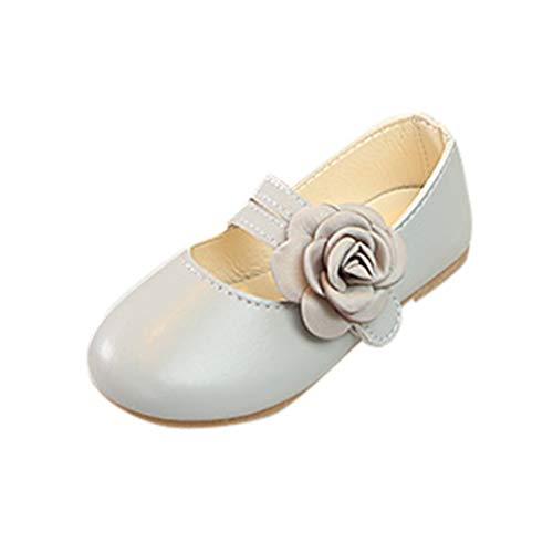 FannyFuny Krabbelschuhe Kinderschuhe Babyschuhe Ballerinas Schuhe Mädchen Prinzessin Schuhe Tanzschuhe Lederschuhe Partei Schuhe Trekking Wandern Kinder Sandalen Taufe Hochzeit Party Schuhe Rutschfest