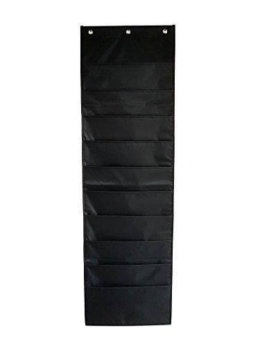 Magazinboard mit 10 Fächern - Dokumentenhalter zum Aufhängen an der Wand