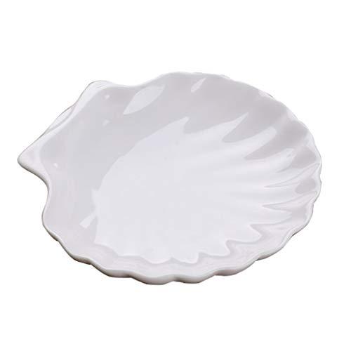 P-Z 10 Restaurants, Haushalt Unregelmäßiges Porzellan, Weiße Schale Geformte Kleine Schüssel, 4 Zoll 4in Square Platte