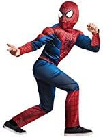 Baby And Blossoms The Amazing Spiderman Boys Child Halloween Costume - Small(3-5 Years) - Red
