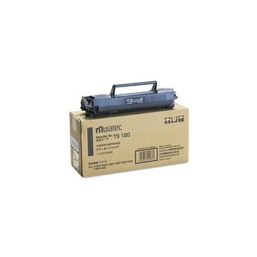 TS120 Toner, 5500 Page-Yield, Black by Muratec