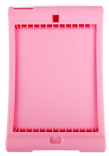 DURAGADGET Rosa, maßgefertigte Silikon-Hülle für Apple iPad Mini (A1432 | A1454 | A1455) / Apple iPad Mini 2 (A1489 | A1490 | A1491) / Apple iPad Mini 3 (A1599 | A1600) - Mini Ipad Cellular 2 128 Gb