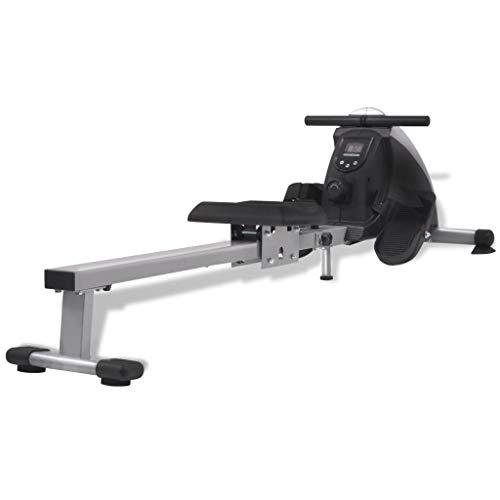Arichtop Rudergerät 4,5 kg Schwungrad Magnetischer Widerstand 8 Stufen