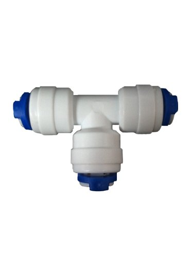 push-fit-t-connector-for-1-4-tubing-on-reverse-osmosis-system-or-fridge-freezer-water-filter-tubing