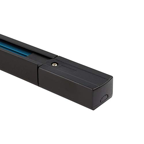 Binario Monofase UltraPower per Faretti LED 2 Metri Nero LEDKIA