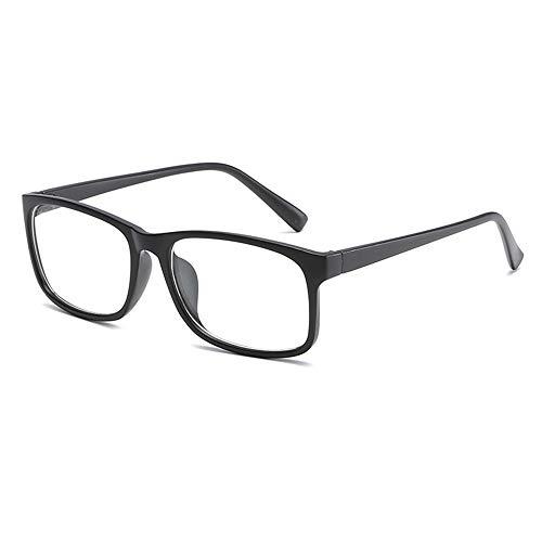 JoXiGo Brillenfassung Damen Herren Retro Rahmen Rechteckig Klare Gläsern Ohne Stärke Nerd Brille...