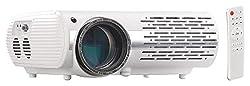 SceneLights Projektor: Full-HD LED-LCD-Beamer mit Media-Player, 1920 x 1080 Pixel, 3.000 lm (Home-Beamer)