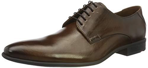 LLOYD Herren NIK Derbys, Braun (Dark Brown 5), 43 EU - 2 Dark Brown Schuhe