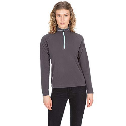 Trespass Womens Skylar AT100 Half Zip Microfleece Jacket Schwarz Half Jacket