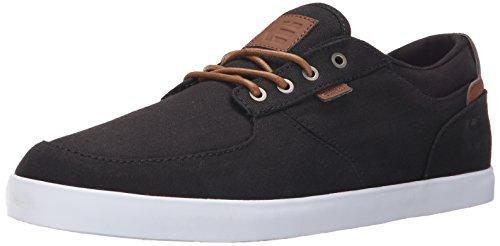 EtniesHitch - Scarpe da Skateboard uomo , Nero (Black (Black/Brown590)), 42.5