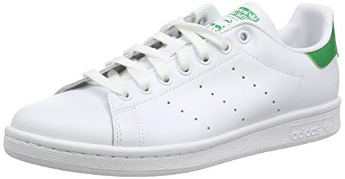 Adidas Stan Smith, Zapatillas de Deporte Unisex Adulto, Blanco (Running White Footwear/Running White/Fairway), 42 EU