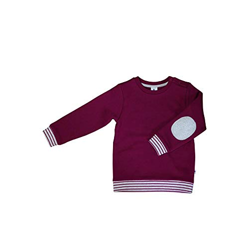 Leela Cotton Baby/Kinder Sweatshirt aus Reiner Bio-Baumwolle, Orchidee, 98/104