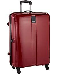 Safari Thorium Polycarbonate 77 cms Red Hardsided Suitcase (Thorium-Sharp-Red-77-4WH)