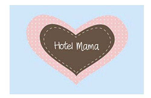 Mea Living Fußmatte Kokos 'Hotel Mama' 70x40cm