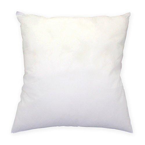 Preisvergleich Produktbild Füllkissen Kissenfüllung Polyester 40x40 / 50x50 / 40x80 / 80x80 für Dekokissen Sofakissen Cocktailkissen Kopfkissen weiß #254 (40x40)