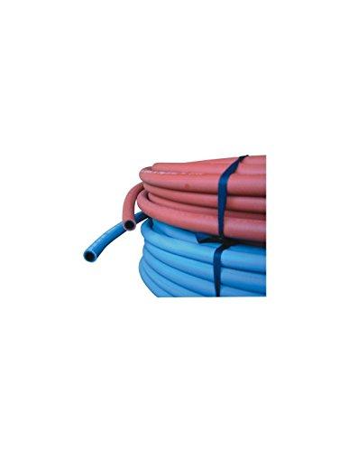 Tuyau soudure caoutchouc arme acetylene diam. 10 mm 20 bar couronne de 20 m