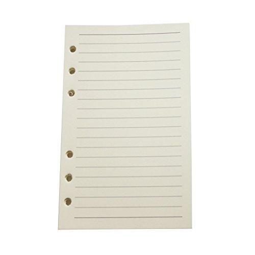 Maleden Leder-Tagebuch, Notizbuch, nachfüllbar, Spirale, täglicher Notizblock, klassisch, geprägt, Reise-Tagebuch, mit blanko Seiten und Retro-Anhängern Lined
