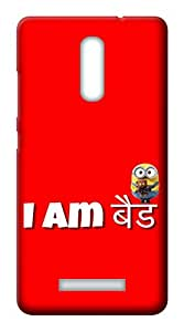 Mott2 Back Case for Gionee S6s | Gionee S6sBack Cover | Gionee S6s Back Case - Printed Designer Hard Plastic Case - Typography theme